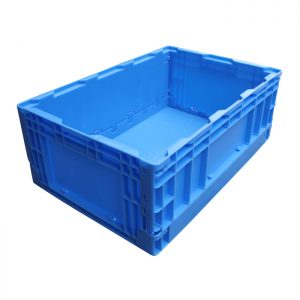 Euro Stacking Containers Folding Storage Bins for Car Trunk