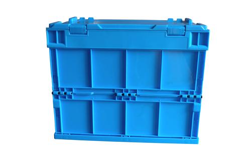folding plastic storage crate